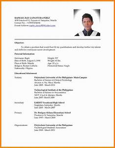 latest resume format 4 latest cv format sample ledger With latest resume templates