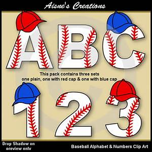baseball numbers clipart jaxstormrealverseus With baseball letter art