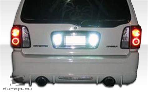 1998 2002 lincoln navigator duraflex platinum rear bumper