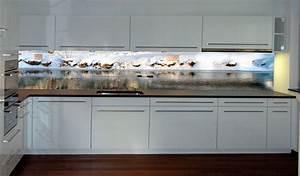 Glas Wandpaneele Küche : stylische k che mit wintertraum bild nr 0200435 ~ Markanthonyermac.com Haus und Dekorationen