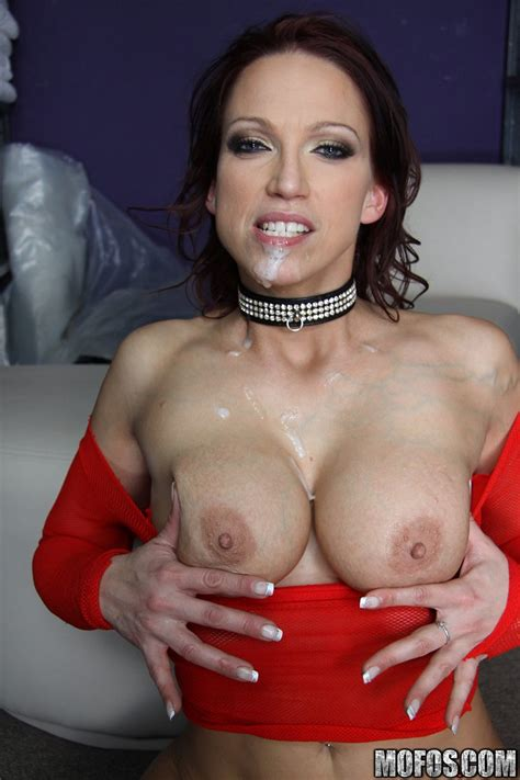 Nicki Hunter Hot Redhead Getting Her Asshole Ripped By A