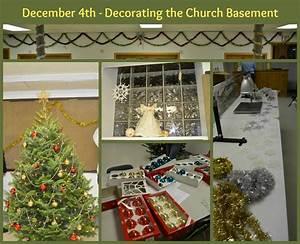 December 4th – Decorating the Church Basement » Sallie Draper