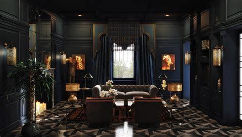 Stylish Home Interiors - vwartclub dark interior