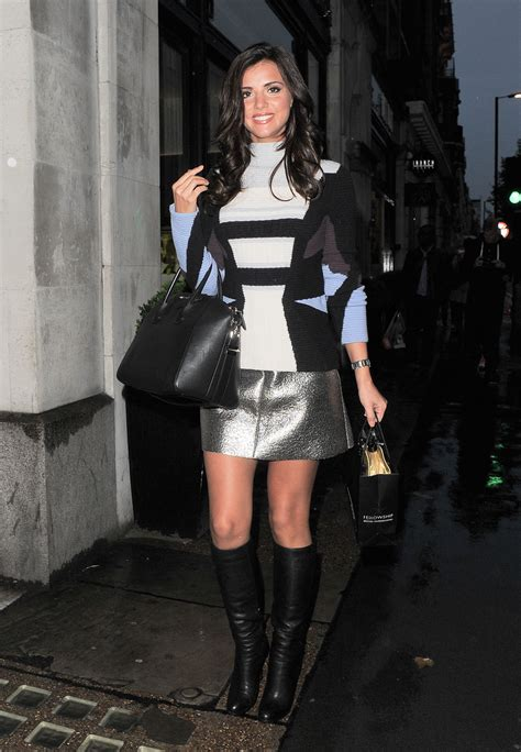 lucy mecklenburgh     london leather