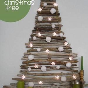 Twig Tree Christmas Display Christmas Tree}