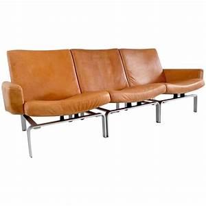 Exklusive Sofas Und Couches : exclusive j rgen h j leather and aluminium sofa for niels vits e at 1stdibs ~ Bigdaddyawards.com Haus und Dekorationen