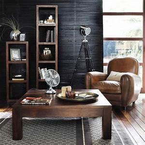 colonne table en manguier bengali fauteuil oxford With bengali maison du monde