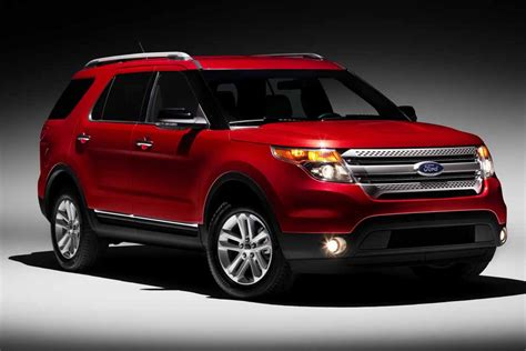 Ford Suv Car by 2012 Ford Explorer Suv