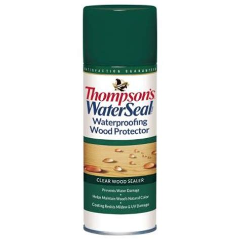 Thompson Sealer Home Depot