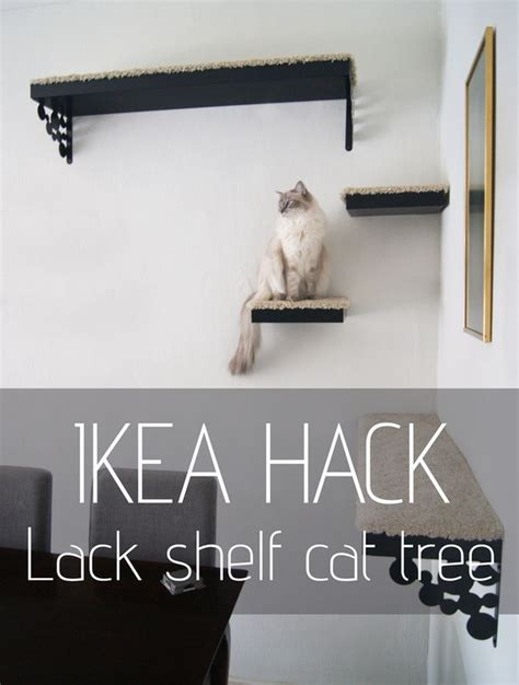 Latest Ikea Hack Diy Cat Tree Made Out Of Lack Shelves