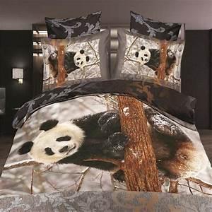 Housse De Couette Panda : panda couette couvre promotion achetez des panda couette couvre promotionnels sur ~ Teatrodelosmanantiales.com Idées de Décoration