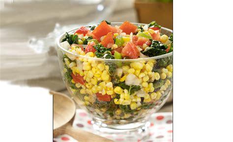 cajun corn  kale salad recipe relish