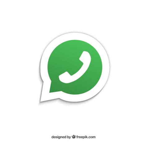 whatsapp icon vector free