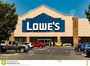 Lowes Home Improvement Store Editorial Stock Image - Image ...