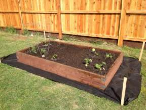 how to build raised bed box for a garden pallet