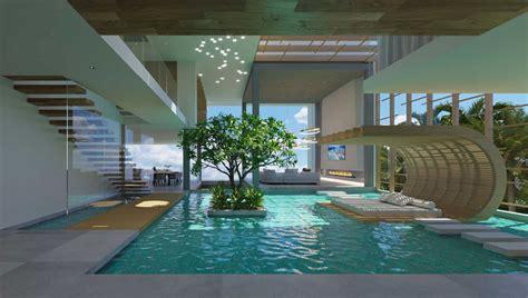 modern coastal dream home  indooroutdoor pools