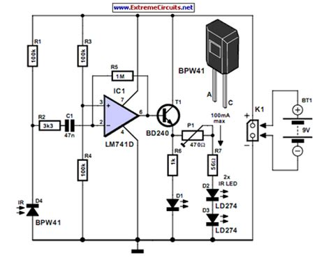 Simple Infrared Control Extender Eeweb Community