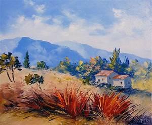 Peindre Au Passé Simple : cours de peinture paysage au couteau tape 1 le mod le ~ Melissatoandfro.com Idées de Décoration