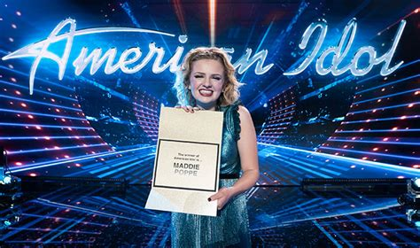 american idol  winner maddie poppe   win