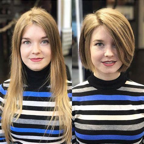 chic short bob haircuts  balance  face shape