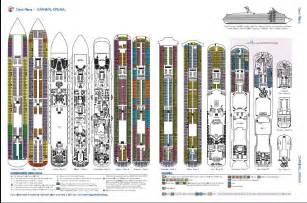 carnival spirit deck plans carnival spirit deck plan ship design bild