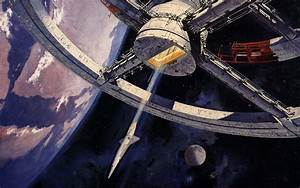 Outer space space station 2001: A Space Odyssey science ...