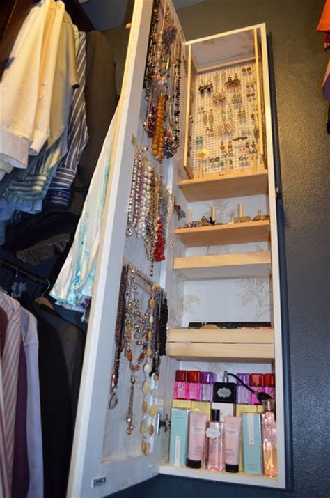 between studs jewelry armoire eclectic closet other