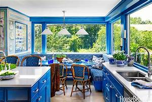 Popular Kitchen Paint and Cabinet Colors - Colorful