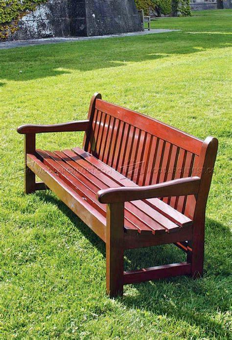 Garden Bench Plans • Woodarchivist