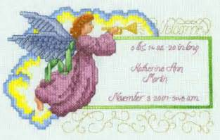 Free Printable Cross Stitch Angel Patterns