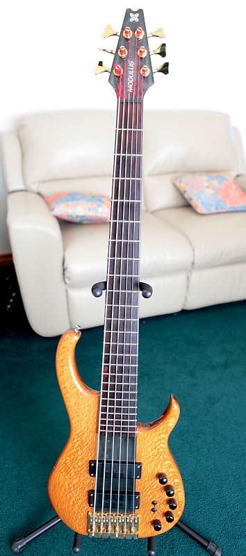 Six String Garage by Modulus Tbx 1994 6 String Bass Leo S Gear Garage Reverb
