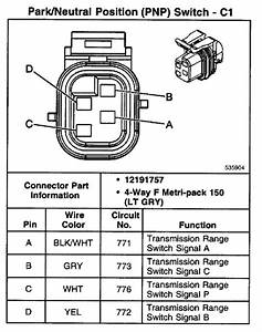 96 Chevy 1500 Wiring Diagram Neutral Safty Switch