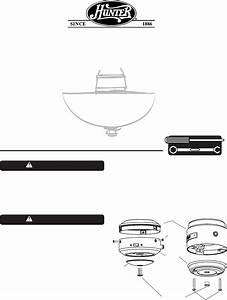 Hunter Fan Fan Ceiling Fan Light Kits User Guide