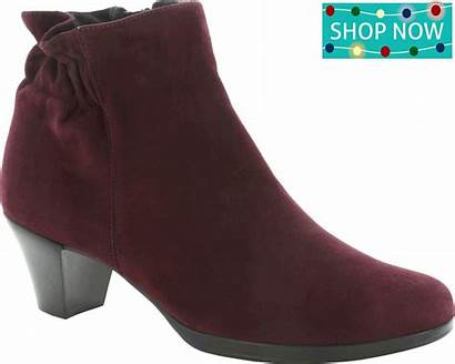 Shoes Party Suede Wine Alfie Munro Every