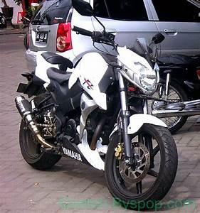 Contoh Modifikasi Yamaha Byson Bergaya Susuki Gsr