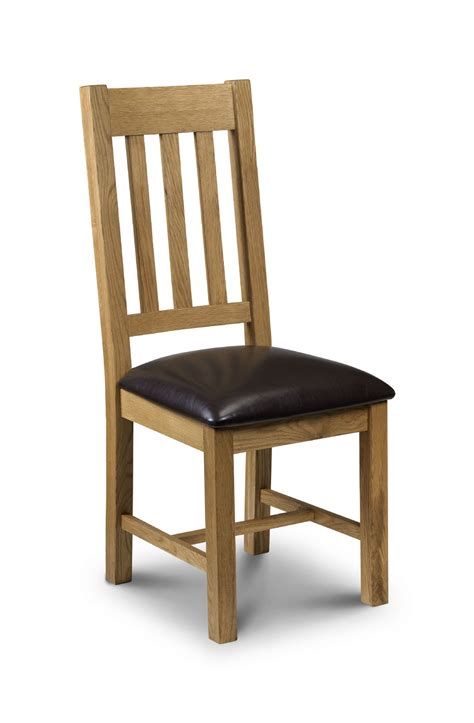 oak leather dining chairs zaragoza oak brown faux leather dining chair jb51 3584