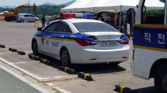 [police Car] South Korean Police Car Standing Of Daegu