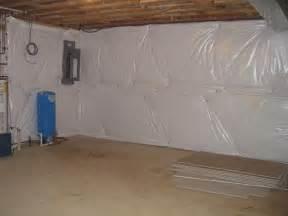basement wrap spray foam insulation basement insulation