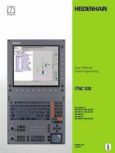 User Manual Itnc 530 670 388