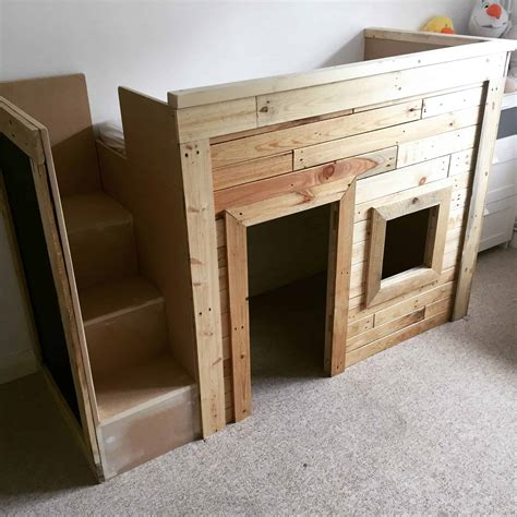 kids pallet bedplayhouse  pallets
