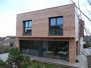 arkobois extension toit plat sur maison 2 pans With agrandissement maison toit plat