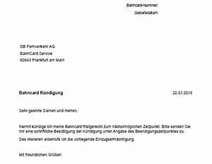 Kündigung Mietverhältnis Frist : bahncard k ndigen frist adresse k ndigungsschreiben vorlage ~ Lizthompson.info Haus und Dekorationen
