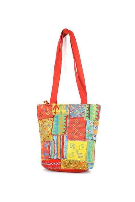 colorful handbags colorful gujarati patchwork handbag bags buddha and beyond