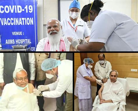 After PM Modi, Politicians make a beeline to receive 1st ...