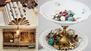 Fabriquer Un Porte Bijoux : 46 id es originales pour fabriquer un porte bijoux des id es ~ Melissatoandfro.com Idées de Décoration