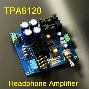 Hifi Board : buy tpa6120 headphone amplifier hifi amp ~ Pilothousefishingboats.com Haus und Dekorationen