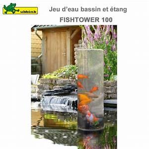 Fontaine Pour Bassin A Poisson : tour poissons pour bassin aquatique fishtower 100 ~ Voncanada.com Idées de Décoration