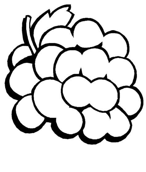 Coloring Grapes by Free Grapes Coloring Pages