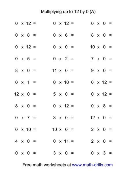 Multiplication Speed Test Worksheets  Times Tables Speed Test Worksheets Maths Ks2 Math