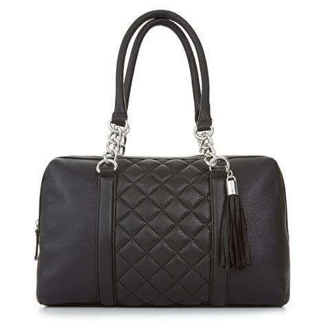 Klein Smart Satchel calvin klein geneva pebble satchel in black black silver